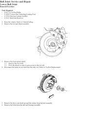 i am trying to change the ball joints on a gmc safari awd and