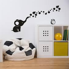 sticker pour chambre éléphant bulle stickers muraux vinyl stickers muraux pour