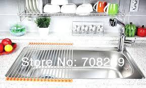 Kitchen Sink Dish Rack Kitchen Sink Dish Racks Stainless Steel Pipe Stainless Steel Drain