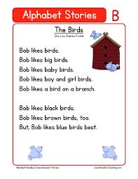 reading comprehension worksheet the birds