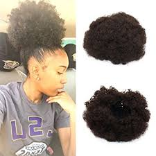 short ponytails for short african american hair amazon com vgte beauty synthetic curly hair ponytail african