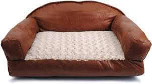 Leather Sofa And Dogs Faux Leather Beds Faux Leather Sofa Pet Stuff And Beds