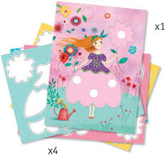 djeco marie u0027s pretty dresses dj09886 djeco art set arts and