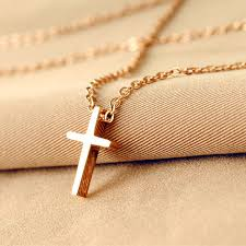 man gold cross necklace images 2014 new fashion jewelry jesus clavicular chain titanium steel 14k jpg
