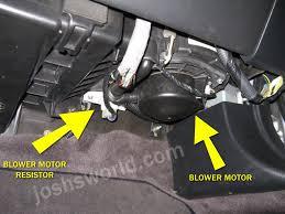 acura tl blower stopped working fix u2013 josh u0027s world