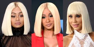blac chyna cardi b and tamar braxton show up to the bet awards in