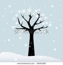 winter tree topic image 2 eps10 stock vector 511248205