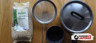 ustensile de cuisine japonaise okayu recette facile à base de riz pour bébé cuisine japon