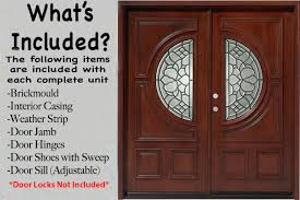 Exterior Doors Discount Wood Entry Doors Db056 1sl Zoom The Pros And Cons Of A Wood