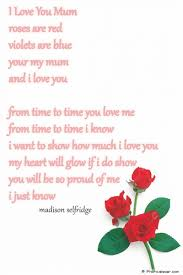 mothers day poems for kids arterey info