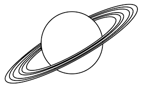 ufo pla galaxy and spaceship coloring page art 17747