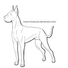 rottweiler coloring pages eassume com 13 pics of great dane puppy