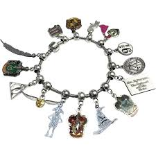 charm bracelet from pandora images Harry potter full charm bracelet pandora compatible wizarding png