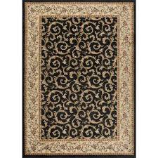 Area Rug Black Black Area Rugs Rugs The Home Depot