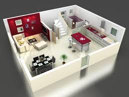 chambre en 3d ides de plan de maison simple 3 chambres en 3d galerie dimages