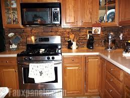 Captivating Stone Veneer Kitchen Backsplash Ddea - Kitchen panels backsplash