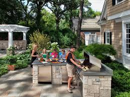Kitchen Backyard Design Remarkable Designs With Pool And Outdoor - Backyard designs with pool and outdoor kitchen