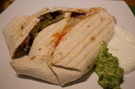 cuisine et voyage burritos au boeuf haché de fil en voyage