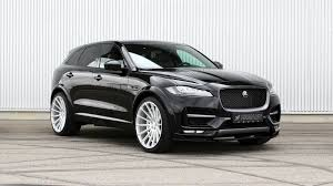 jaguar f pace black hamann u0027s jaguar f pace distills refined aggression