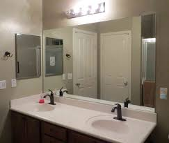 Oval Bathroom Mirror by Bathroom Large Framed Bathroom Mirrors Oversized Wall Mirrors