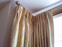 Bay Window Pole Suitable For Eyelet Curtains Corner Bay Window Curtain Pole Farmersagentartruiz Com