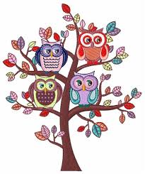 owl tree embroidery designs machine embroidery designs at