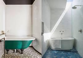 patterned tile bathroom patterned tiles interior design trend design lovers blog