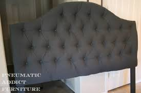 cheap tufted headboard and pneumatic addict tufting the