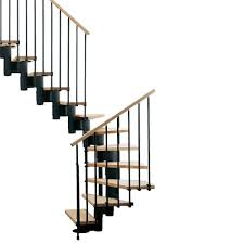 arke kompact 35 in black modular staircase