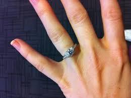 ribbon ring co brilliant ribbon ring 70 carat i do now i don t