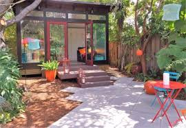 ideas for turning your backyard shed into an extra space