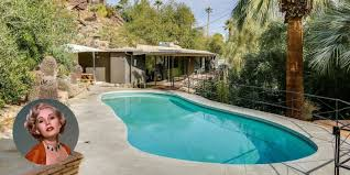 zsa zsa gabor u0027s palm springs house is for sale