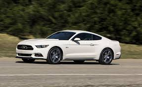 mustang all models 2015 ford mustang gas mileage epa ratings for all models released