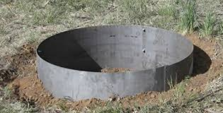 Firepit Ring 36 Diameter X 14 Steel Metal Pit Ring Liner