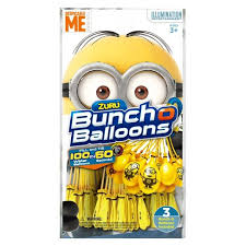bunch balloons zuru bunch o balloons minions 3pk 100 self sealing water balloons