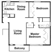 two apartment floor plans floor plan 2 bedroom apartment akioz com