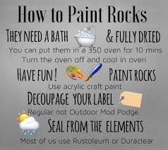 northeast ohio rocks how to paint rocks