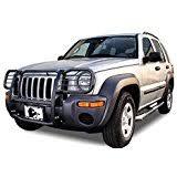 jeep liberty front bumper amazon com jeep liberty kj front bumper protector brush grille