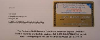 American Express Business Card Application Pbp Corporate Relations