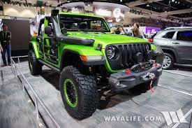 wrangler jeep green 2017 la auto show mojito green jeep jl wrangler rubicon unlimited