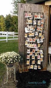 vintage wedding decor vintage wedding decor with polaroid photo display