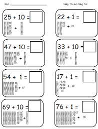 tens and ones worksheet for first grade worksheets