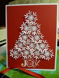 Decorate With Christmas Cards Best 25 Snowflake Cards Ideas On Pinterest Embossed Christmas
