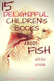 books about fish with a free addition printable enjoy the