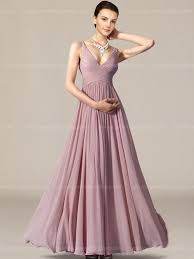 bridesmaid gown v neck length modern bridesmaid dress