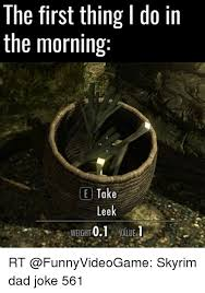 Leek Meme - the first thing do in the morning ce take leek 01 value weight i