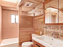 Tongue And Groove In Bathrooms Rustic Full Bathroom With Console Sink By Mal Seitz Zillow Digs