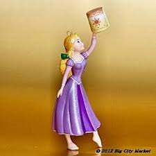 flynn and rapunzel ornament tangled and bday wants