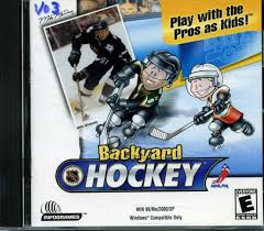 Backyard Sports Online 109 11125 Backyard Hockey Play With The Pros As Kids Video