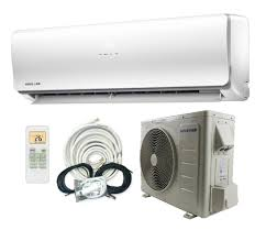 ductless mini split concealed split system air conditioners amazon com